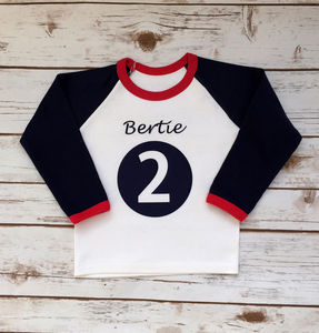 Bertie Personalised Top