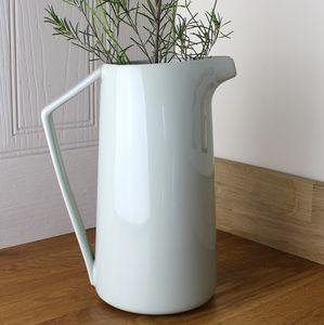 Retro Soft Duck Egg Blue Jug