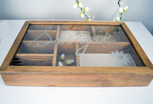 Extra Large Personalised Wooden Jewellery Box - jewellery storage & trinket boxes