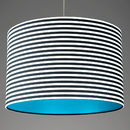 Pick And Mix Stripe Drum Lampshade Choice Of Colours