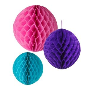 Bright Party Honeycomb Decorations - decorative accessories