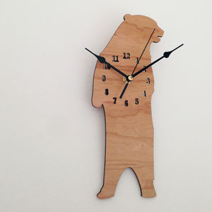 Bear Clock - bedroom