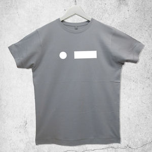 Personalised Morse Code Initial T Shirt - t-shirts & vests