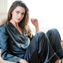 Women's Silk Long Pyjama Set