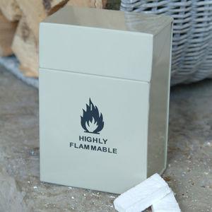 Fire Lighter Holder - living room