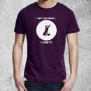 'I Don't Like Cricket, I Love It' T Shirt