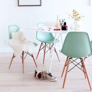 Spring Pastel Dining Chair - dining room