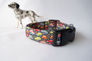 Bertie Liberty Print Dog Collar