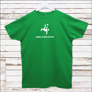 Personalised Footballer T Shirt - personalised t-shirts for men