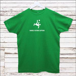 Personalised Footballer T Shirt