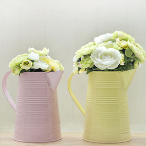 Pastel Flower Jug - easter home