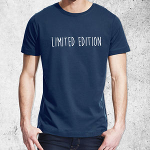 'Limited Edition' T Shirt - slogan fashion
