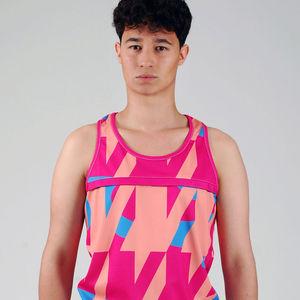 Digital Graphic Print Vest - t-shirts & vests