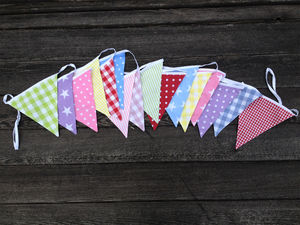 Neopolitan Bunting - room decorations