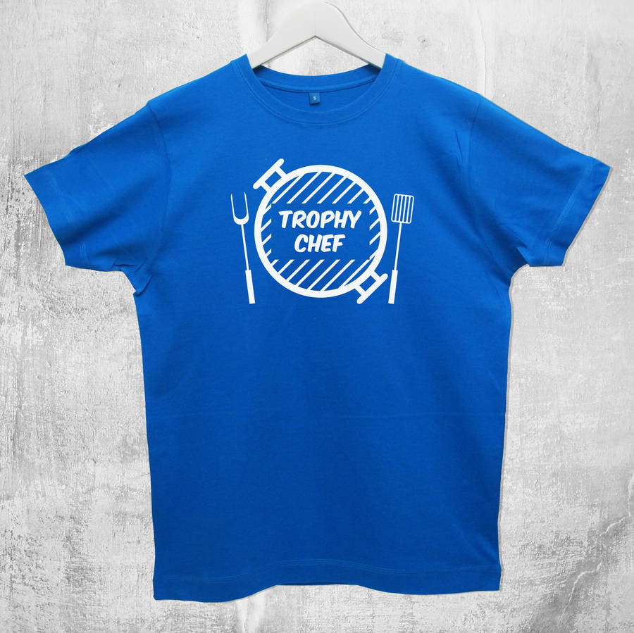 39 Trophy Chef 39 Cooking T Shirt By A Piece Of