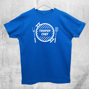 'Trophy Chef' Cooking T Shirt - Mens T-shirts & vests
