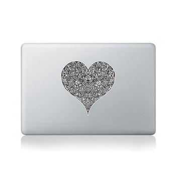 The Heart Within Vinyl Sticker For Macbook