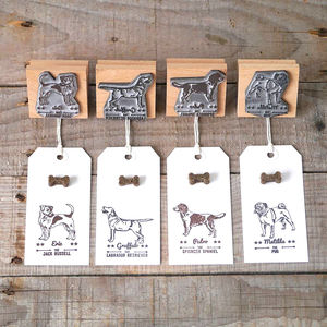 Personalised Dog Rubber Stamp - pet-lover
