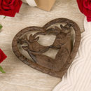 Heart Shaped Iron Trivet Pan Rest