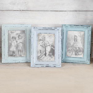 Wooden Vintage Style Photo Frame - picture frames