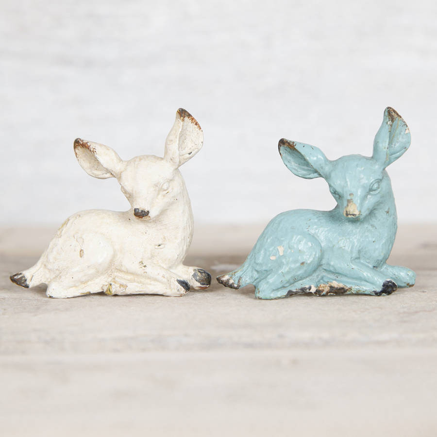 Fawn Deer Metal Drawer Knob Handle