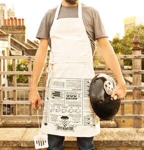 Barbecue Cooking Guide Apron - picnics & barbecues