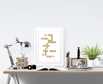 'I Can Never Find The Words' Print