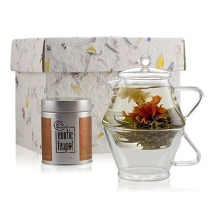Flowering Tea For One Discovery Tea Gift Set - tea & infusions
