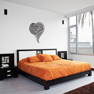 Heart Vinyl Wall Art Sticker