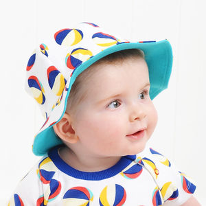 Blue Beachball Hat - children's hats