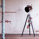 Standing Tripod Hollywood Industrial Floor Studio Lamp