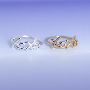Xo Xo Ring - jewellery gifts for friends