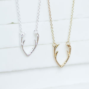 Antler Necklace - necklaces & pendants