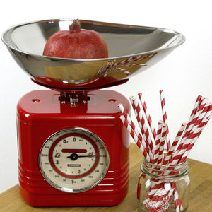 Retro Style Kitchen Scale - cooking & food preparation