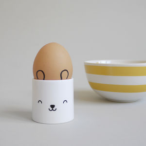 Bear – Egg Cup - easter homeware
