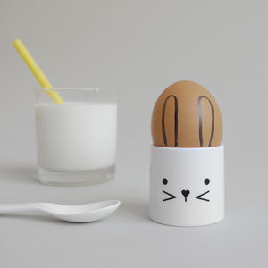 Bunny Egg Cup - egg cups & cosies