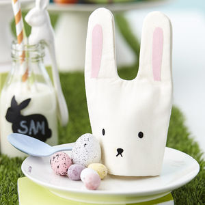 Six Easter Bunny Egg Cosies