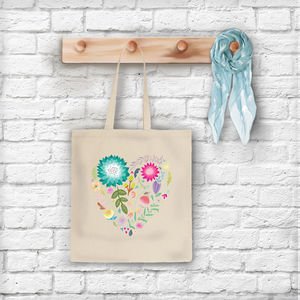 'Love Is A Garden' Tote Bag