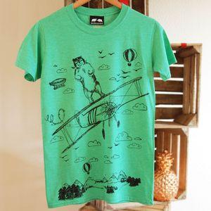 Bear And Aeroplane - tops & t-shirts
