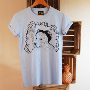 Bear In Headscarf T Shirt - t-shirts & vests