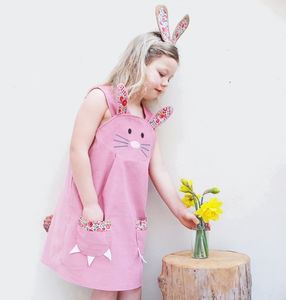 Bunny Rabbit Dress - pretend play & dressing up