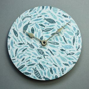 Shoal Of Fish Wall Clock