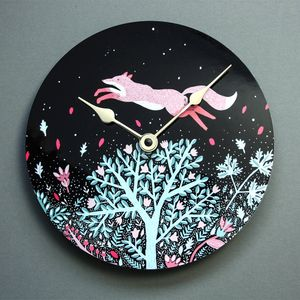 Magic Midnight Wall Clock