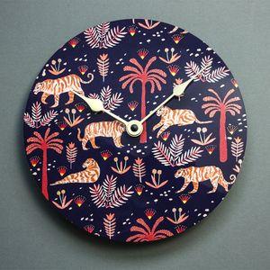 The Tigers Wall Clock