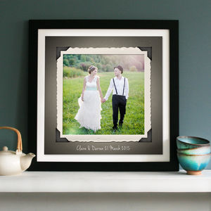 Personalised Retro Photo Print Or Canvas
