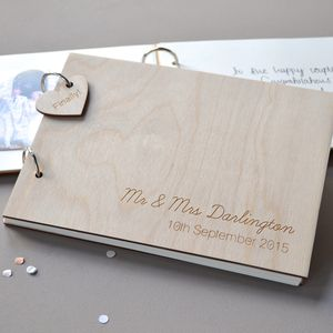 Personalised Guest Book - albums & guestbooks