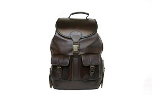 San Jose Leather Backpack - backpacks