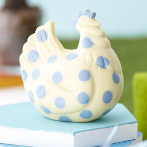 Chocolate Spotty Chicken - easter chocolates