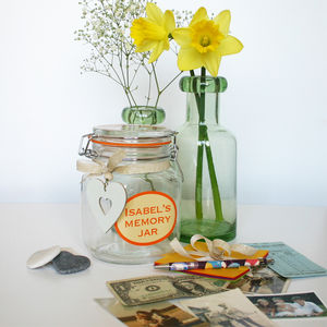 Personalised Memory Jar - jars