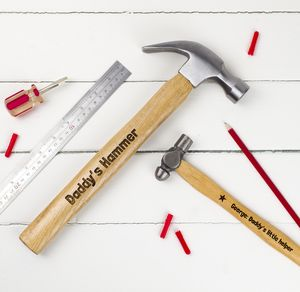 Personalised Big Hammer And Little Hammer Set - personalised gifts for fathers